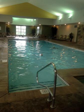 Marriott's Willow Ridge Lodge: Indoor Pool has jacuzzi for tushy warming