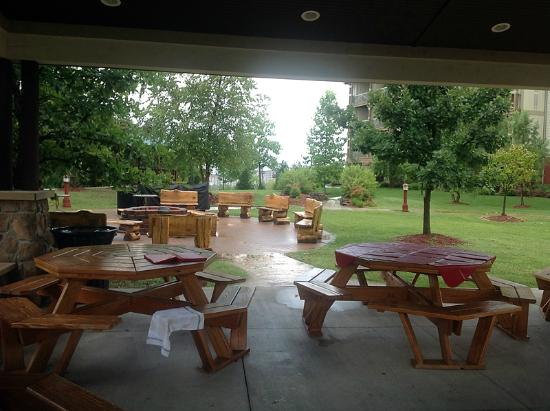 Marriott's Willow Ridge Lodge: Outdoor picnic area