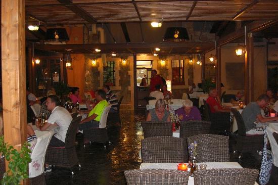 Restaurant Tassos, Rethymnon, Crete, Greece.
