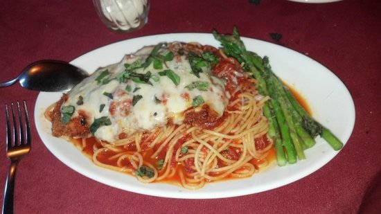 Memories: fabulously delicious chicken parmesan