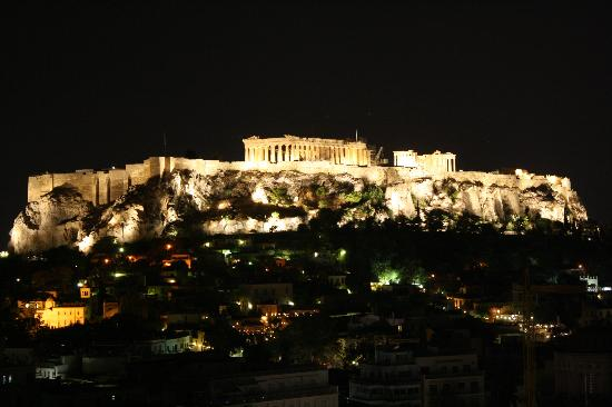 Astor Hotel Athens: Breathtaking view from rooftop