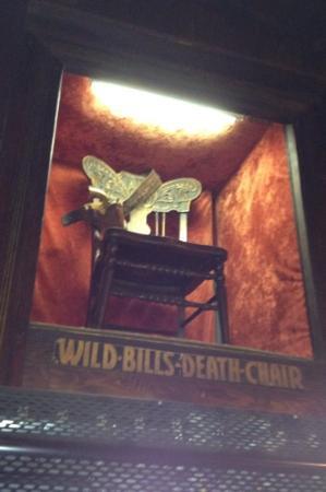Wild Bill's Death Chair @ Saloon #10