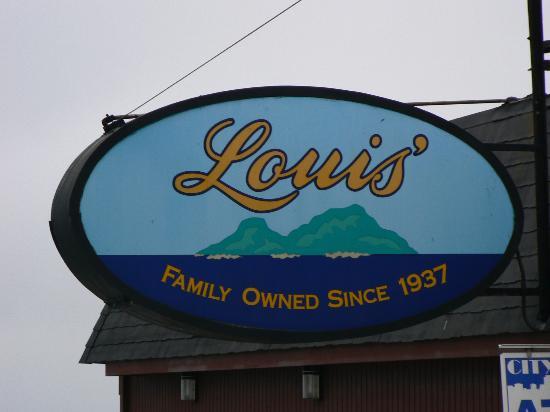 Louis' Restaurant : good looking sign