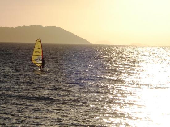 DPNY Beach Hotel & Spa: pôr do sol vista