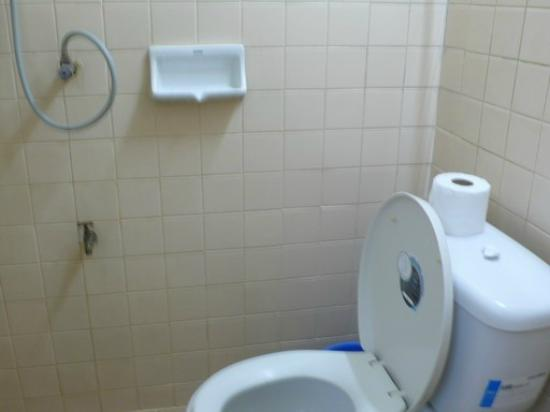 Pranee Building: the basic bathroom