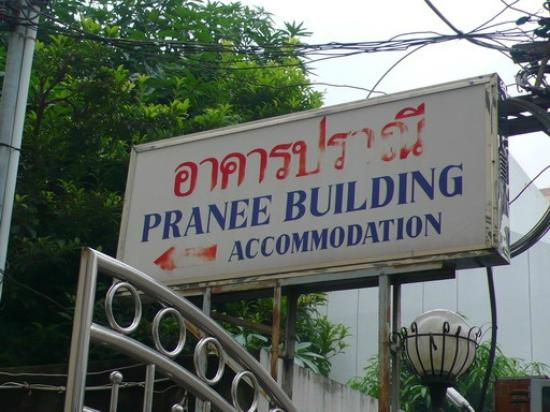 Pranee Building: the other entrance
