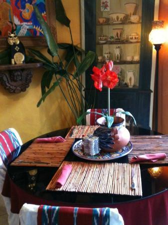 إيه صن ست تشاتو: Breakfast dining area 