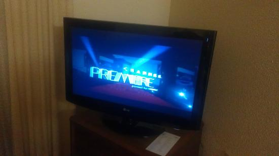 Residence Inn Washington, Dc/Dupont Circle : Two flat screen HD TVs were a plus