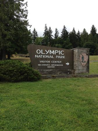 Olympic Lodge: Olympic National Park visitor center
