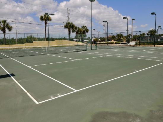 Phoenix Condominiums: Tennis courts