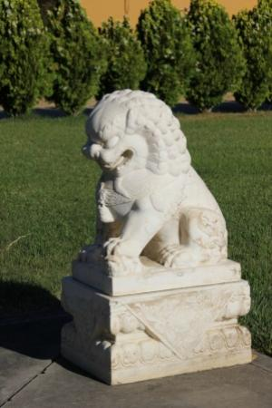 The City of Ten Thousand Buddhas: Stone Lion