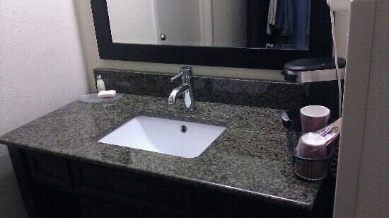 Club-Hotel Nashville Inn & Suites: remodeled sink