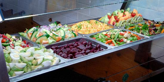 Barrier Social Democratic Club: Bistro Salad Bar