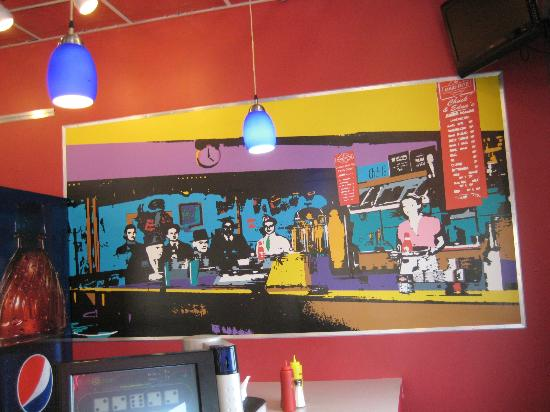 Chuck and Edna's Maid-Rite: Mural