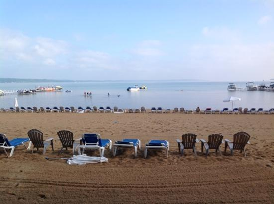 Sugar Beach Resort Hotel: panoramic from room 128