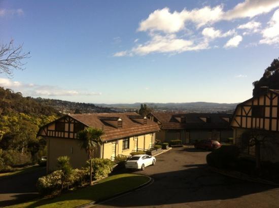 Village Family Motor Inn: view from room 2.