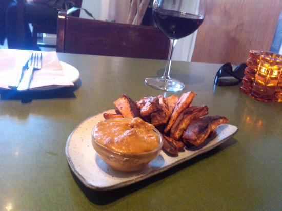 The Coup : Roasted Rosemary Yams
