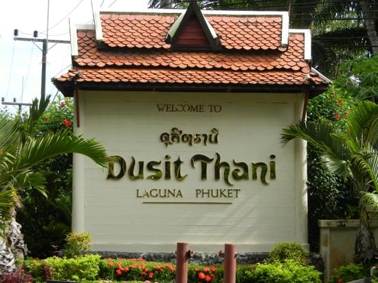 Dusit Thani Laguna Phuket: Welcome to Dusit Thani Laguna