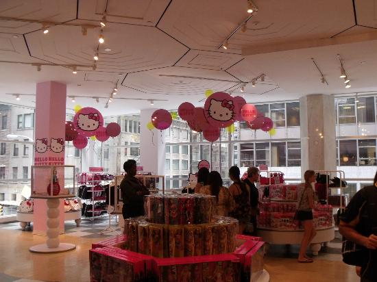 FAO Schwarz: Section Hello Kitty