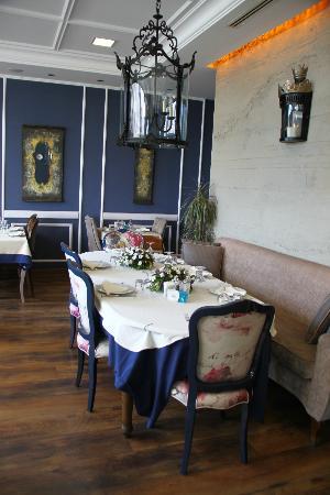 korfez restaurant: indoor section of korfez