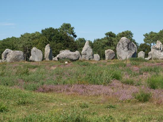 Musée de Préhistoire: カルナックの巨石群