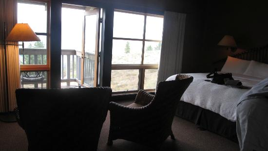 Sun Mountain Lodge : Part of the room!!