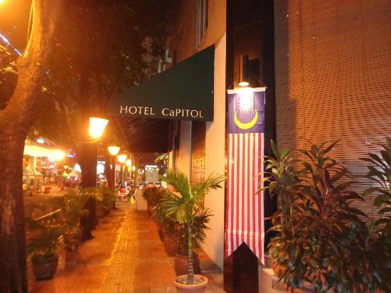 Capitol Hotel: Terrace