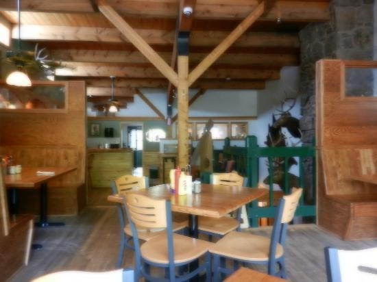 True Grit Cafe: The 2nd Floor of the Restaurant