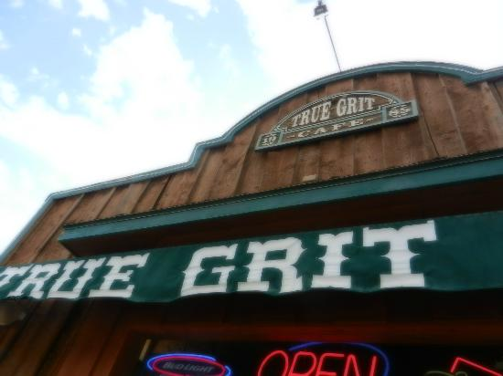 True Grit Cafe: Taken from the balcony