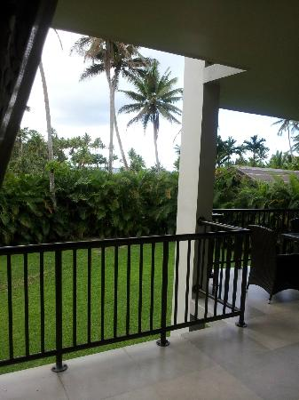 ULTIQA at Fiji Palms Beach Resort : view from main bedroom