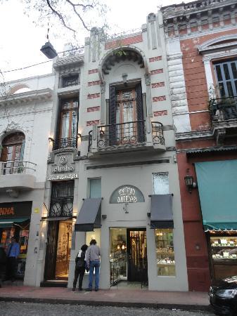 Telmho Hotel Boutique : Façade hôtel