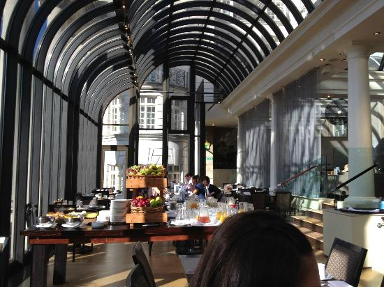 Swell Part Of The Breakfast Buffet At The Terrace Picture Of The Interior Design Ideas Tzicisoteloinfo