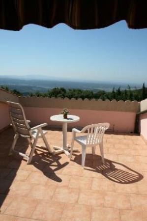 Hotel Villa Paradiso: Panorama dalla Camera