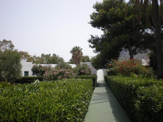 Hotel Eolian: Giardino hotel
