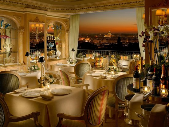Mirabelle: Fine dining, excellent service, extraordinary views