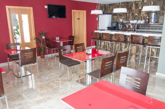 Hotel Senderos: Bar