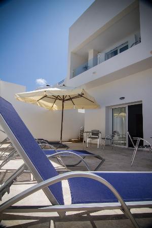 Hotel Senderos: Una de las terrazas
