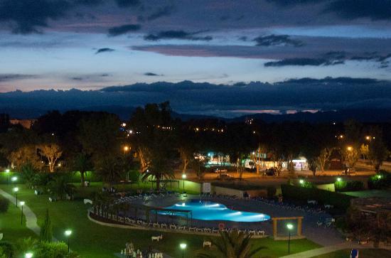 Hotel Mediterraneo Park and Hotel Mediterraneo : Tramonto