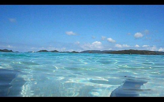 Minshuku Kinjo: 阿嘉島 ニシハマビーチにて