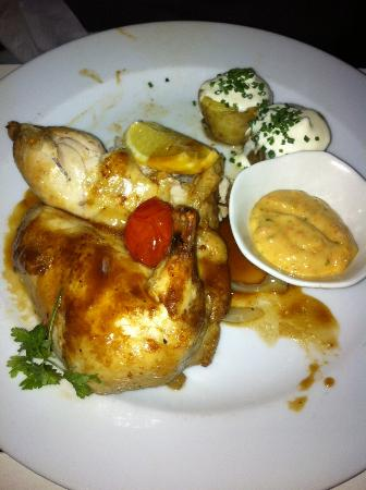 The French Cafe : pollo