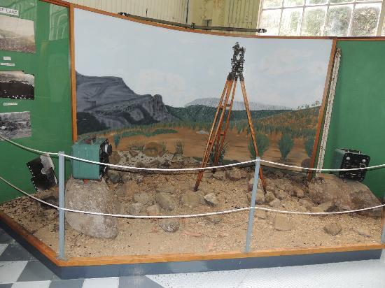 Waddamana Power Station Museum: Surveyors corner