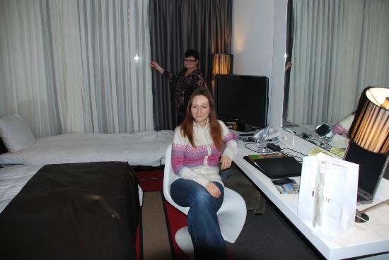 Hotel Amsterdam Dusche Im Zimmer : Im Zimmer