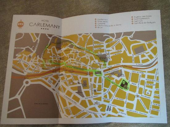 Hotel Carlemany: Герона не большой город - 10 минут пешком до центра
