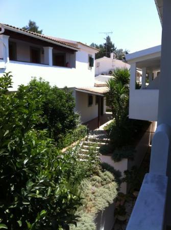 Paradise Inn Hotel : vue de notre terrasse