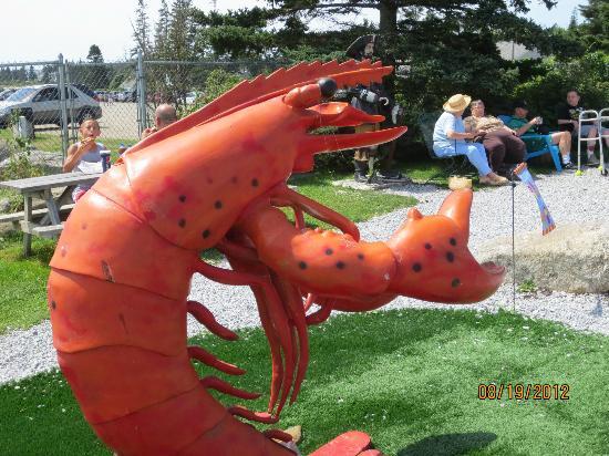 Pemaquid Fisherman's Co-Op: sculpture