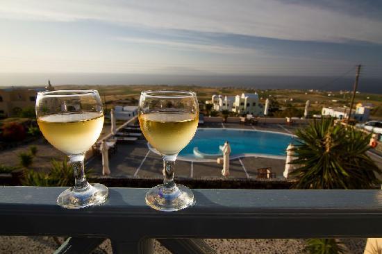 Anemoessa Villa: view from the maisonette