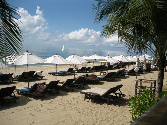 Thai House Beach Resort: Ready for sunbathers
