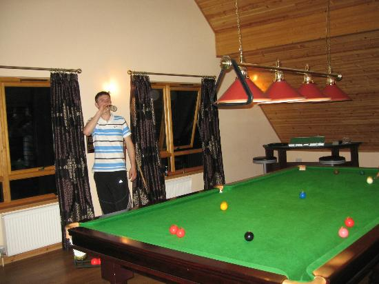 Piperdam Golf & Leisure Resort: Great night of Snooker