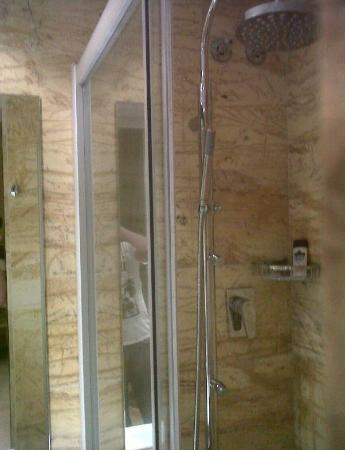 Nouvel Hotel: The shower in the double