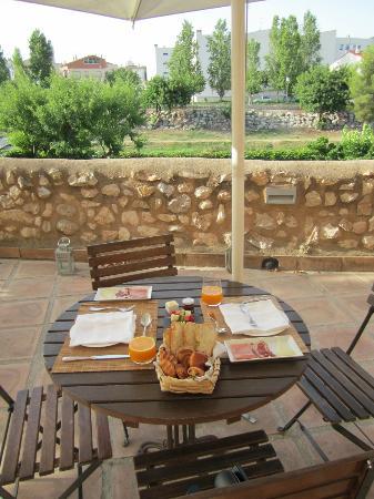 Ibai, Una Osteria Contemporania: Beautiful breakfast